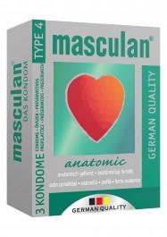 Masculan Atomic Condoms 3pc