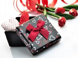 Романтические подарки на день Святого Валентина
