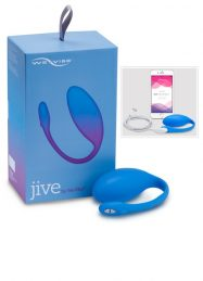 WE-VIBE JIVE BLUE VIBRATING EGG