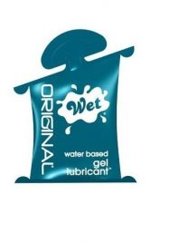 WET ORIGINAL WATER BASED LUBE 10ML