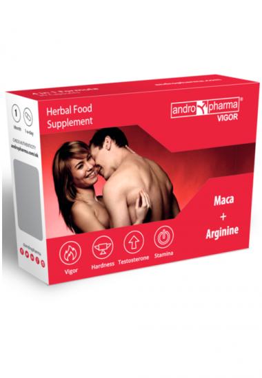 Vigor toidulisand tõstab libiidot naturaalsel viisil suurendades testosterooni tootmist kehas ja parandades verevarustust peenises.